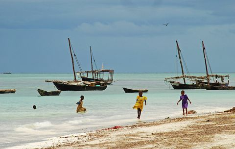 Beach, Sky, Sea, Boat, Vehicle, Vacation, Ocean, Coast, Dhow, Summer,