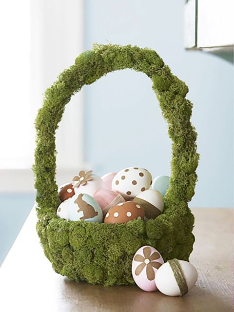 Green, Grass, Easter, Baby toys, Plant, Moss, Easter egg, Easter bunny, Crochet, Non-vascular land plant,