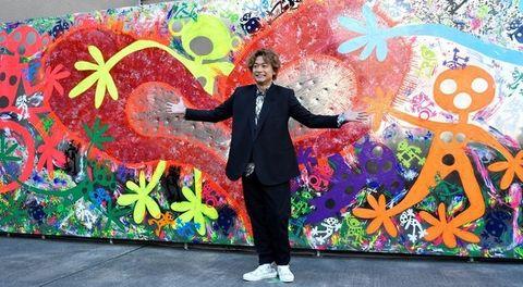 Mural, Art, Artist, Fun, Painting, Graffiti, Visual arts, Event, Plant, Modern art,