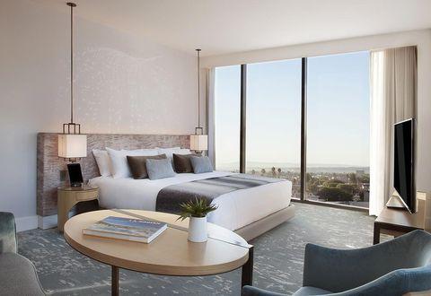Furniture, Room, Interior design, Property, Living room, Building, Bedroom, House, Floor, Table,