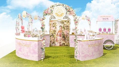 Pink, Arch, Architecture, Furniture, Event,