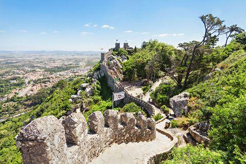Vegetation, Landmark, Mountain, Wilderness, Sky, Tourism, Tree, Rock, Ruins, Hill,