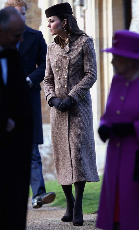 Clothing, Coat, Hat, Standing, Outerwear, Style, Purple, Overcoat, Headgear, Street fashion,