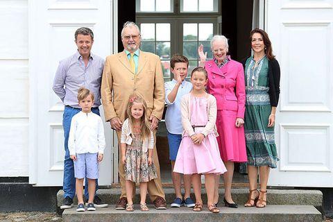 クリスチャン王子家族写真