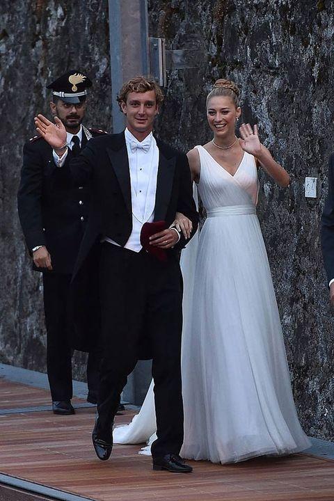 Photograph, Wedding dress, Dress, Suit, Formal wear, Gown, Bride, Bridal clothing, Wedding, Ceremony,