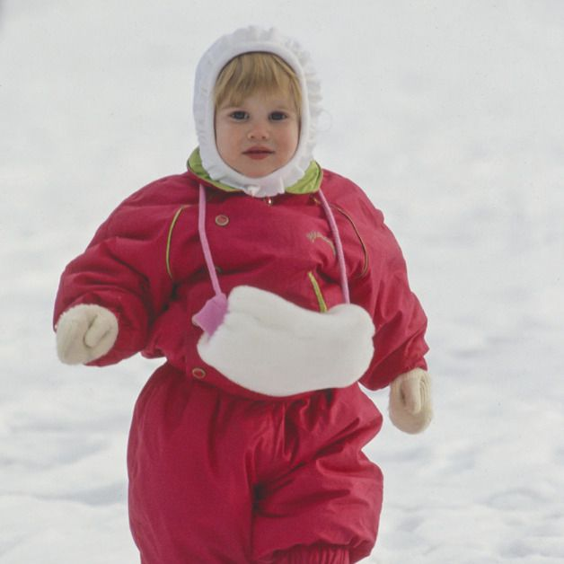 Red, Snow, Winter, Child, Pink, Ice skating, Outerwear, Toddler, Fun, Recreation,