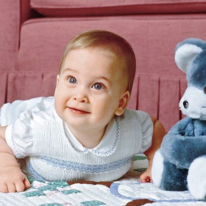 Child, Toddler, Baby, Ear, Stuffed toy, Room, Smile, Toy, Happy, Plush,