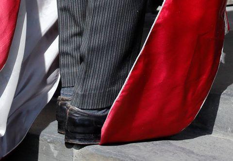 Red, White, Black, Leg, Footwear, Design, Textile, Jeans, Outerwear, Carmine,