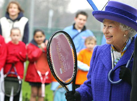 Face, Head, Sports equipment, Eye, Hat, Racket, Playing sports, Strings, Tennis racket, Costume accessory,