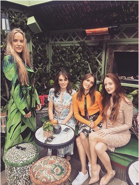 Fashion, Friendship, Event, Dress, Textile, House, Party, Plant, Happy, Long hair,