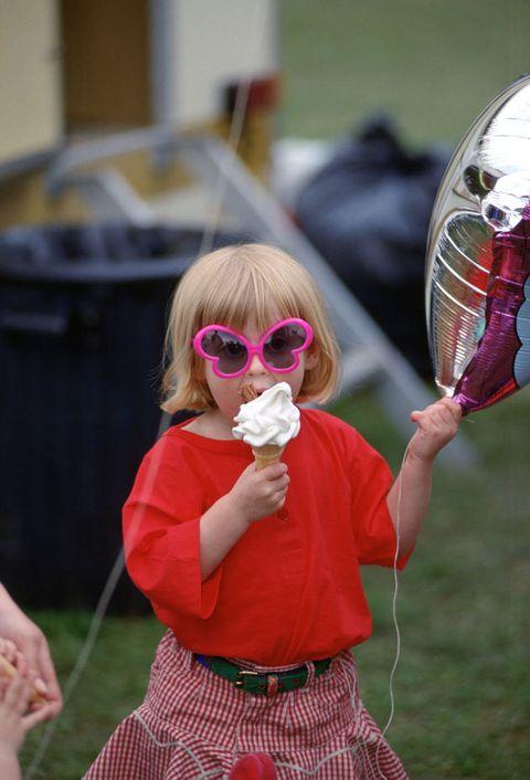 Pink, Red, Child, Eyewear, Fun, Glasses, Grass, Sunglasses, Toddler, Costume,
