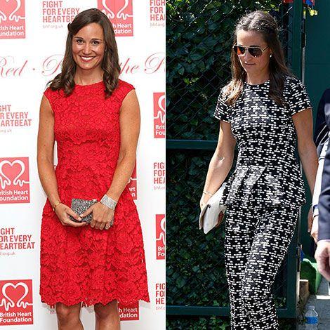 Clothing, Red, Pattern, Style, Dress, Sunglasses, Fashion accessory, Street fashion, Fashion, Logo,