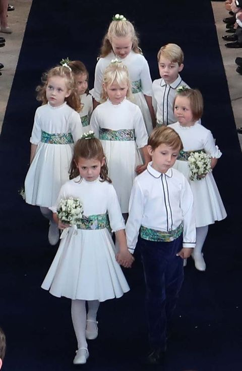 Child, Dress, Event, Ceremony, Fashion, Formal wear, Smile, Sibling,