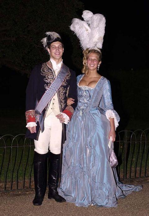 Fashion, Victorian fashion, Costume, Dress, Fun, Event, Costume design, Fashion design, Headpiece, Tradition,