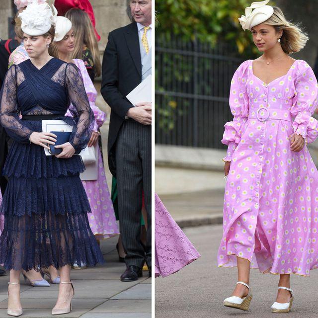 Pink, Clothing, Fashion, Dress, Purple, Street fashion, Headpiece, Violet, Hair accessory, Footwear,