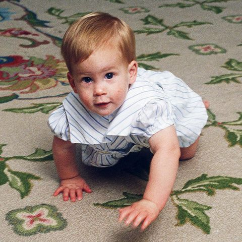 child, toddler, baby, crawling, tummy time, play, leaf, grass, sitting, pattern,
