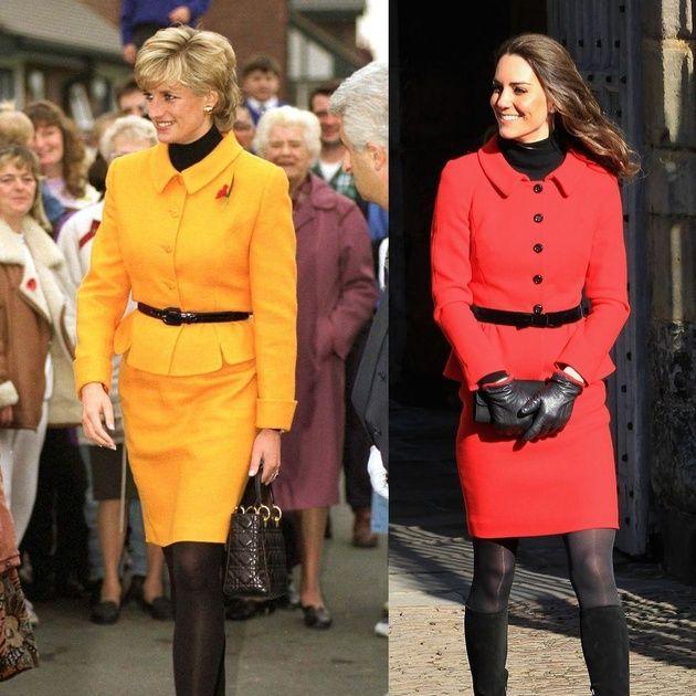 Clothing, Street fashion, Orange, Fashion, Yellow, Outerwear, Footwear, Coat, Knee, Fashion model,