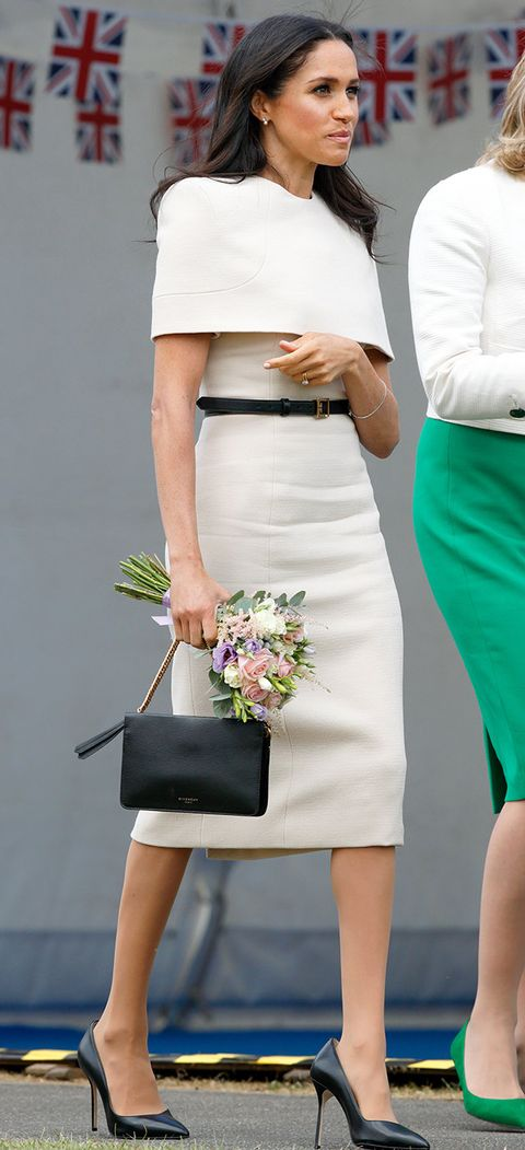 White, Clothing, Pencil skirt, Shoulder, Waist, Fashion, Joint, Dress, Leg, Street fashion,