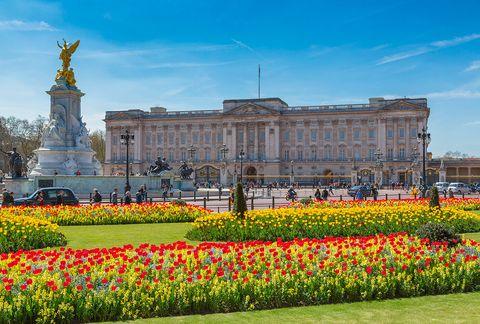 Landmark, Garden, Flower, Palace, Spring, Architecture, Plant, Sky, Tulip, Botany,