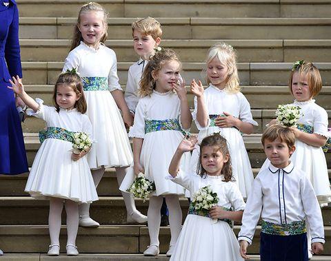 Child, Ceremony, Event, Dress, Wedding, Flower, Plant, Bridal party dress, Tradition,