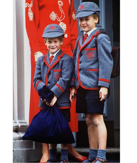 Clothing, Uniform, School uniform, Street fashion, Child, Child model,