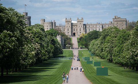 Building, Tree, Architecture, Grass, City, Garden, Palace, Castle, Park, Estate,