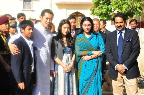 Event, Ceremony, Wedding reception, Sari, Wedding, Smile,