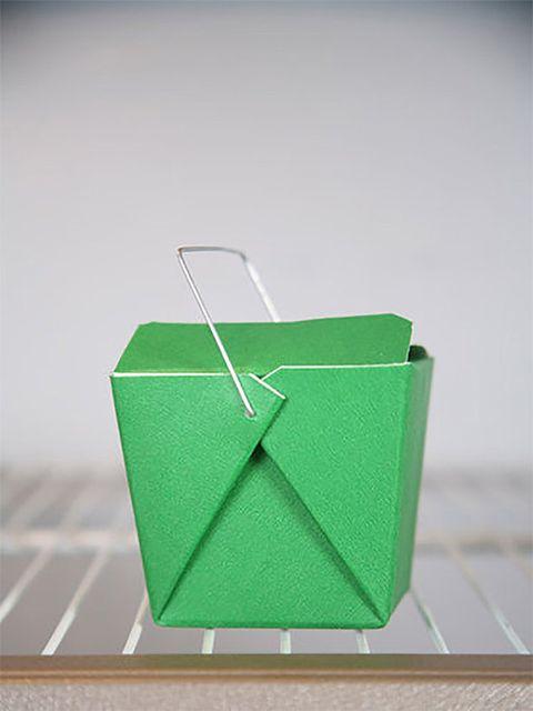 Green, Design, Origami, Paper, Box, Rectangle, Art paper, Art,