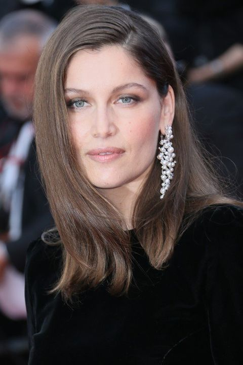 Earrings, Lip, Hairstyle, Eyebrow, Eyelash, Style, Long hair, Beauty, Fashion, Youth,