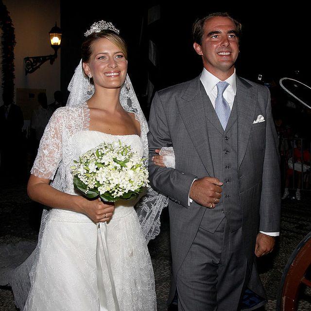 Bride, Gown, Wedding dress, Marriage, Ceremony, Facial expression, Dress, Wedding, Bridal clothing, Formal wear,