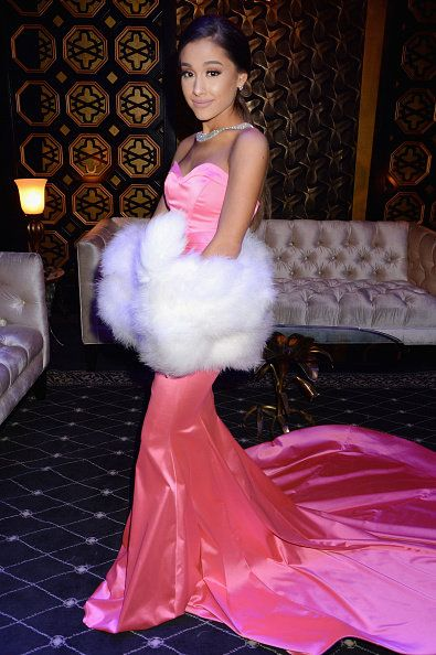 Pink, Clothing, Dress, Gown, Shoulder, Beauty, Fashion, Haute couture, Quinceañera, Formal wear,