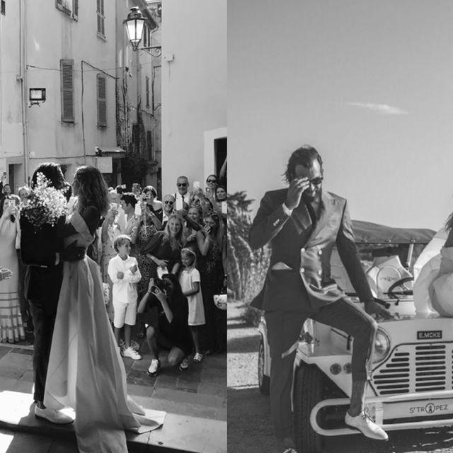 Photograph, Classic, Snapshot, Vehicle, Car, Dress, Vintage clothing, Vintage car, Retro style, Event,