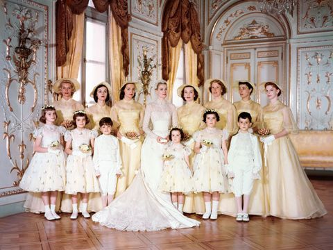 photograph, child, dress, wedding dress, gown, event, bridal party dress, bridal clothing, fashion, bride,