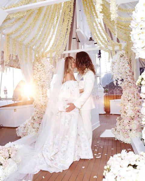 Photograph, White, Wedding dress, Dress, Bridal clothing, Veil, Bride, Gown, Bridal accessory, Bridal veil,