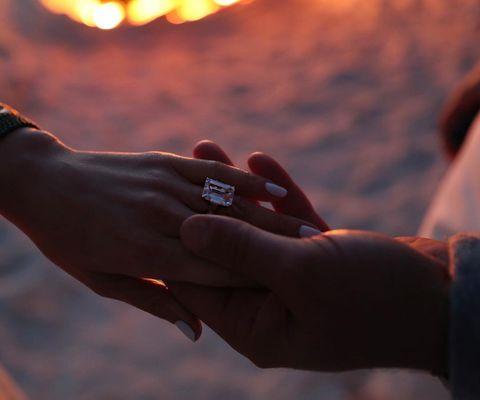 Hand, Finger, Sky, Orange, Wrist, Arm, Gesture, Nail, Photography, Sunlight,