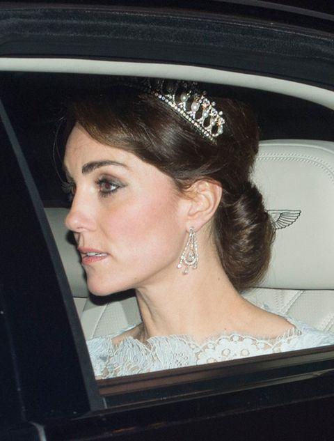 Hair, Headpiece, Hairstyle, Hair accessory, Eyebrow, Tiara, Chin, Beauty, Forehead, Bridal accessory,