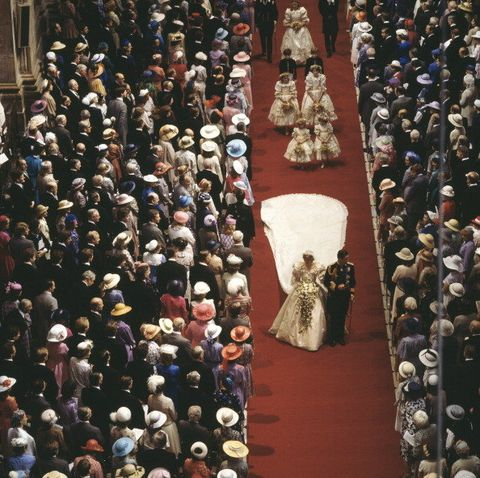 People, Crowd, Aisle, Audience, Carpet, Petal, Ceremony, Tradition, Hall, Gown,