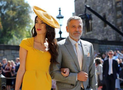 Yellow, Fashion, Street fashion, Suit, Event, Dress, Fun, Headgear, Hat, White-collar worker,
