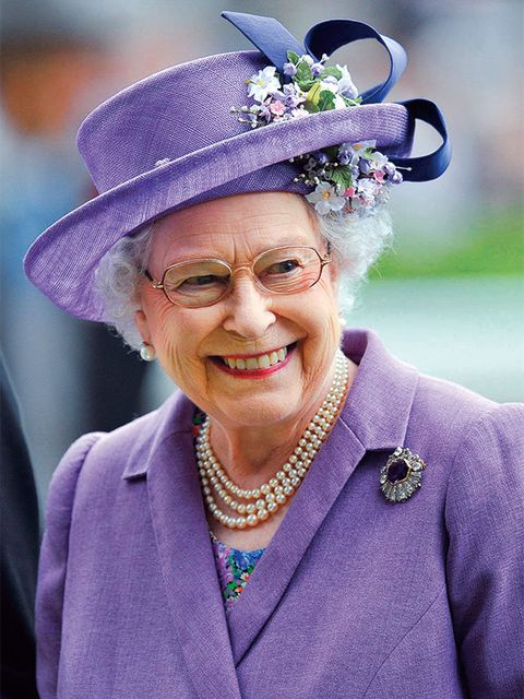 Purple, Hat, Headgear, Smile, Fashion accessory, Flower, Plant,