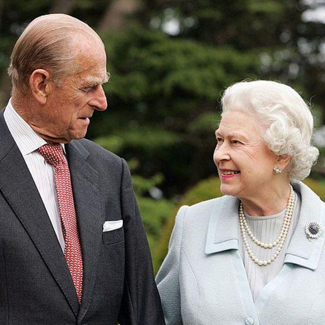 エリザベス女王とフィリップ王配