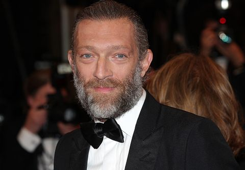 Facial hair, Hair, Beard, Hairstyle, Chin, Forehead, Moustache, Suit, Event, Premiere,