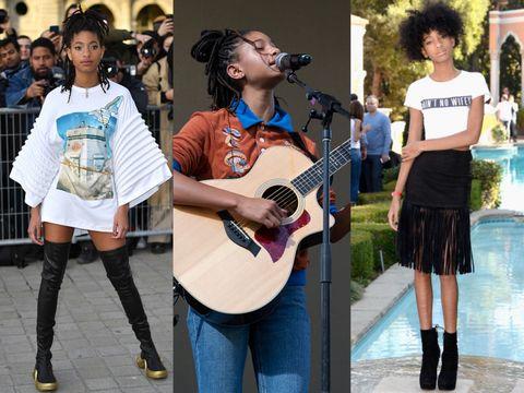Street fashion, Fashion, Guitar, Footwear, Street performance, Musician, Eyewear, Street, Plucked string instruments, Shoe,