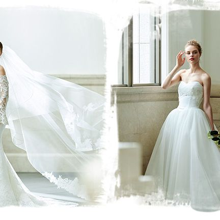 Gown, Wedding dress, Dress, Clothing, Bride, Bridal clothing, Fashion model, Shoulder, Bridal party dress, Bridal accessory,