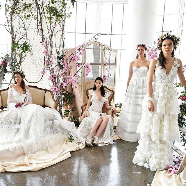 Clothing, Dress, Bridal clothing, Textile, Photograph, Wedding dress, Petal, White, Gown, Pink,