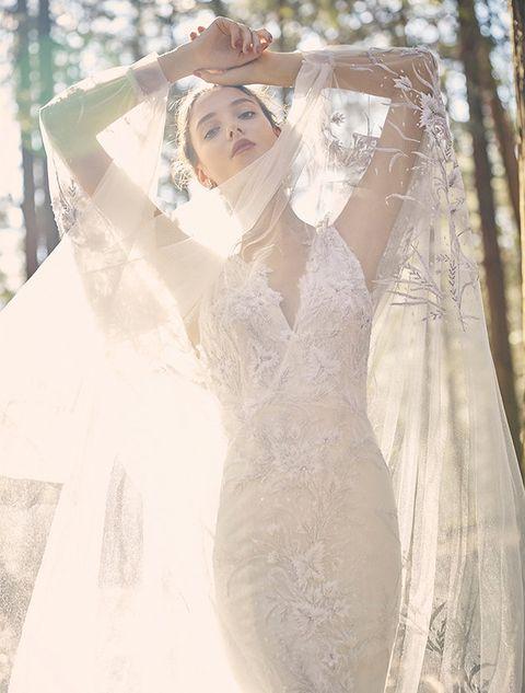 Wedding dress, Veil, Photograph, Clothing, Dress, Gown, Bridal accessory, Bridal veil, Bridal clothing, Bride,
