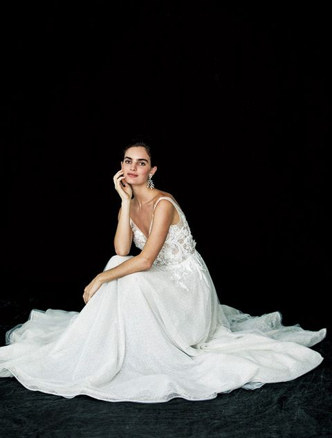 Gown, Dress, Wedding dress, Bride, Photograph, Clothing, Bridal clothing, Bridal accessory, Beauty, Fashion model,