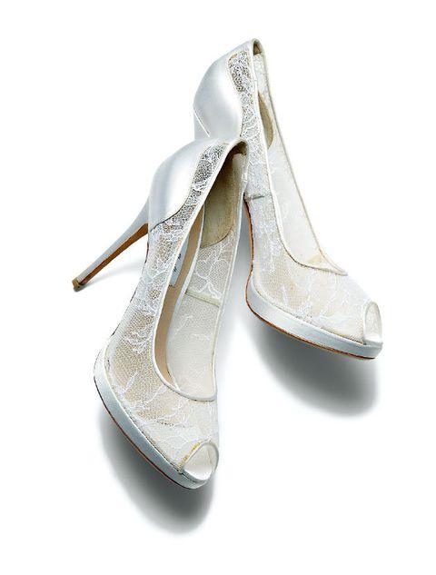 Footwear, White, Shoe, Silver, Fashion accessory, High heels, Beige, Court shoe,