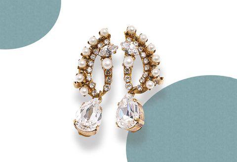 Jewellery, Fashion accessory, Diamond, Ear, Gemstone, Earrings, Body jewelry, Brooch,