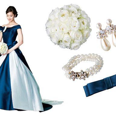 Clothing, Dress, Formal wear, Style, Petal, One-piece garment, Gown, Fashion accessory, Fashion, Earrings,