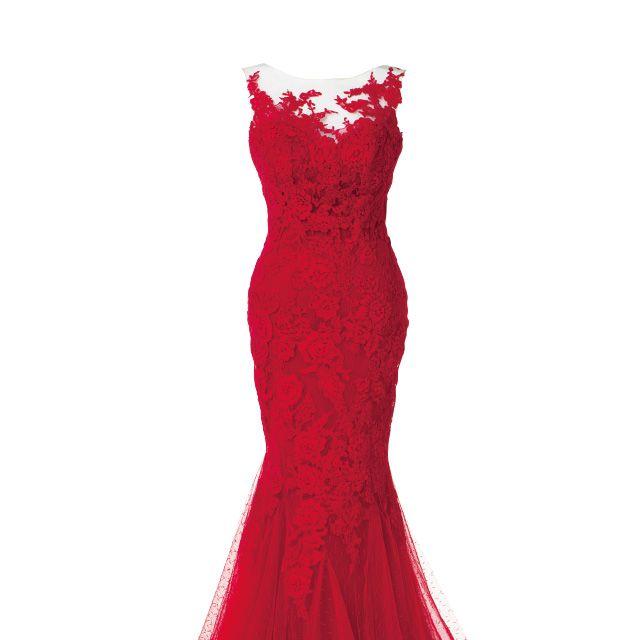 Dress, Red, One-piece garment, Carmine, Maroon, Day dress, Gown, Cocktail dress, Costume design, Fashion design,